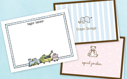 personalized baby thank you cards arts arts